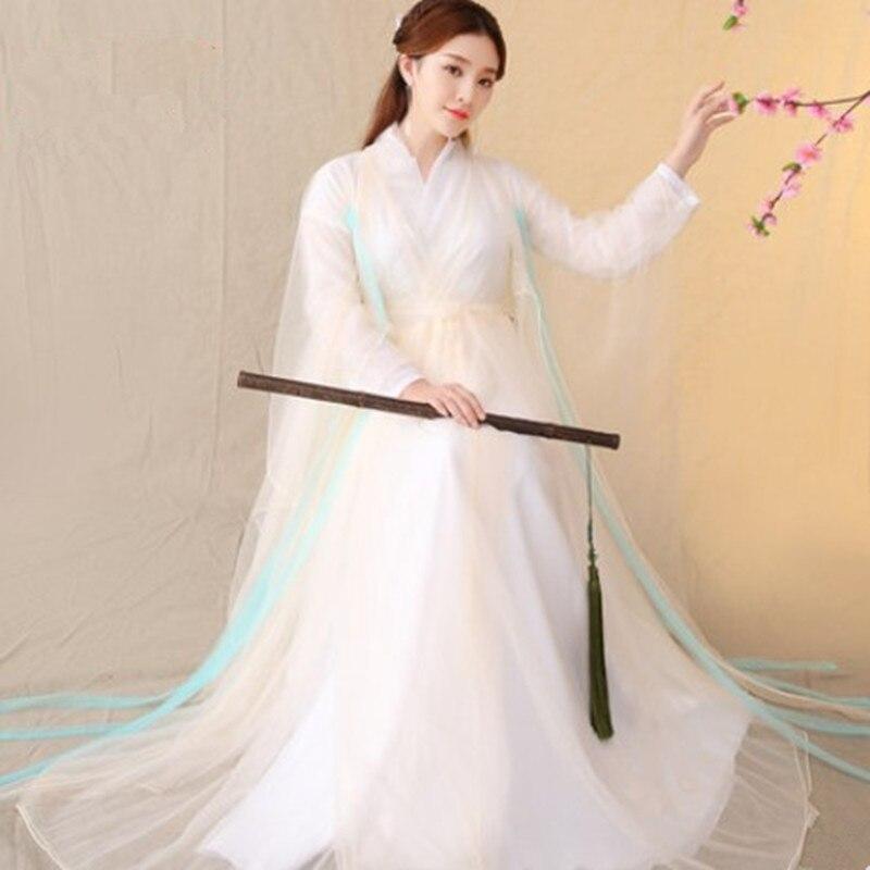 Baiqian костюмы для женщин одежда ханьфу старинная сказочная одежда платье принцессы Хэллоуин карнавальные костюмы