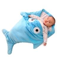 autumn winter baby swaddle blankets newborn sleeping wrap bag kick proof sleepsacks boy girls soft cotton baby bathrobe 0 16m