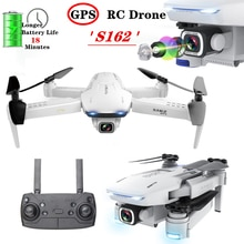 S162 GPS Drone 5G WIFI FPV 4K caméra professionnel Selfie pliant quadrirotor mouche 18 minutes 600 mètres Mini Drone VS XS812 jouet cadeau