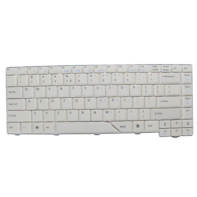 Blanco nuevo teclado para Acer Aspire 4520 MS2220 5730 Z03 AS5220 4250, 5530, 4735, 5710 de la Serie G teclado del ordenador portátil