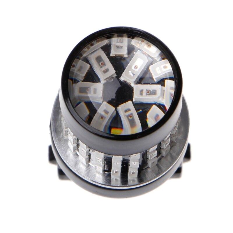 2x T25 3014 78SMD LED Super brillante Freno de marcha atrás de coche señal de giro trasera lámpara G99F