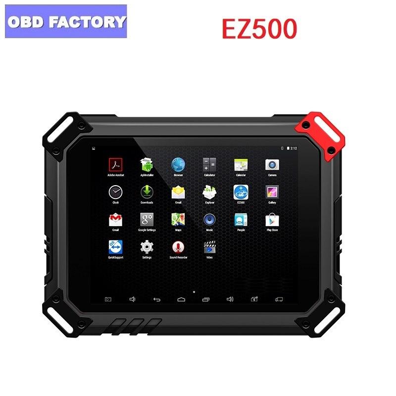 Original EZ500 HD sistema de diagnóstico de alta resistencia con WIFI EZ500 de alta resistencia en línea Actualización de diagnóstico de camión envío gratis