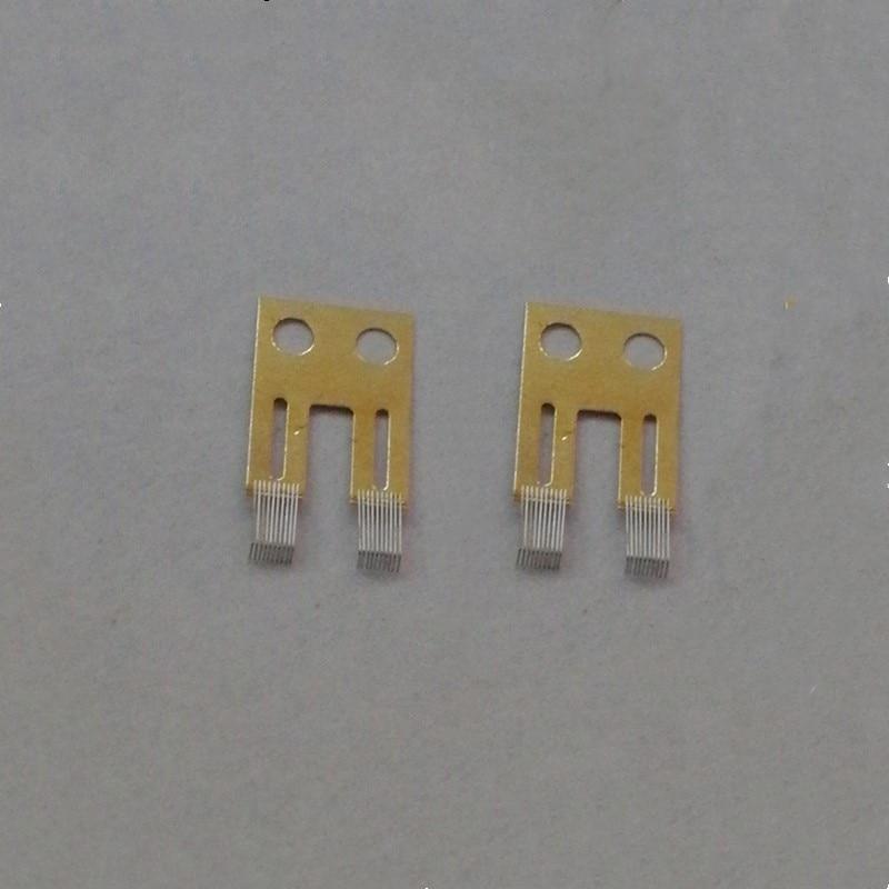 2 uds para BMW E65 E66 serie 7 interruptor de columna de dirección Sensor de ángulo Kit de reparación de cepillo de contacto