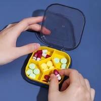 new travel convenient medicine pill box mini 5 grids pills dispenser pill organizer tablet pillbox case container drug divider