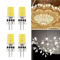 8pcs g4 led bulb acdc12v 24v 3w led g4 light 20led 360 beam angle light 2835smd replace 30w halogen lamp
