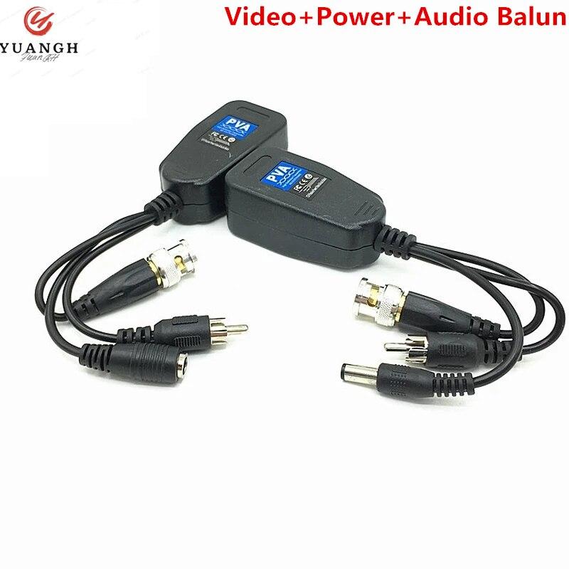 4K RJ45 Video Balun HD пассивный 8MP витая пара Coax BNC видео мощный трансивер для разъема CAT5e/6