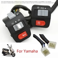 motorcycle switches motorbike horn button turn signal electric fog light start handlebar controller switch left right for yamaha
