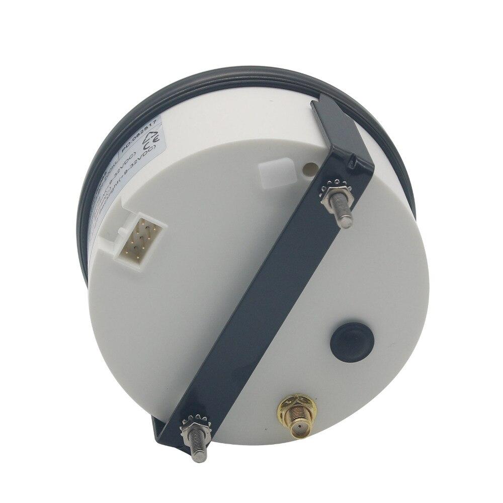 Car Motor Speedo Waterproof Digital Gauges 85mm 200 KM/h GPS Antenna Speedometer  - buy with discount