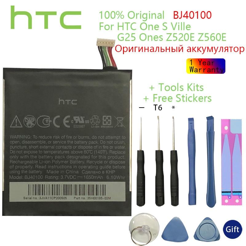 HTC-Batería de teléfono de repuesto Original, herramientas de regalo y pegatinas, para...