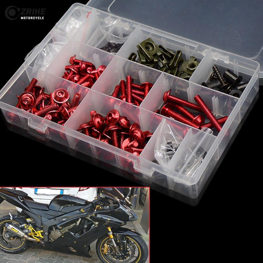 Motosiklet aksesuarları fairing cıvata vida özel cam vida HONDA büyükşehir/gümüş kanat/Helix250/refleks refleks ABS