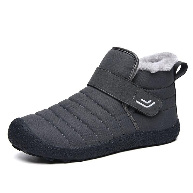 Winter Unisex Waterproof Hiking Shoes Outdoor Slip-on Sport Shoes Trekking Sneakers Mountain Boots Anti-Slippery Walking Sneaker