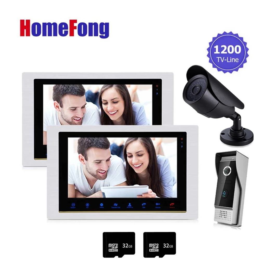Homefong Video Door Phone Doorbell Home Intercom 10