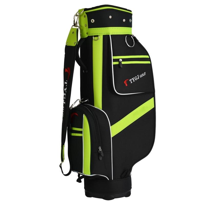 Bolsa de Golf 2020, bolsa de Golf estándar para personal, paquete de viaje retráctil para exteriores con 5 enchufes y correa de hombro D0639