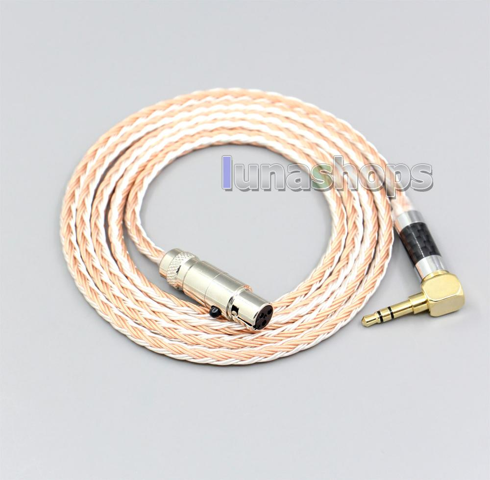 Cable de auriculares mixto OCC Chapado en plata de 16 núcleos para...