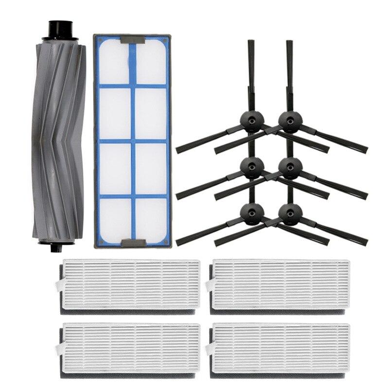 Aspirador de pó rolo principal escova lateral hepa filtro primário para amibot animal h2o conne aspirador de pó robótico peças escovas