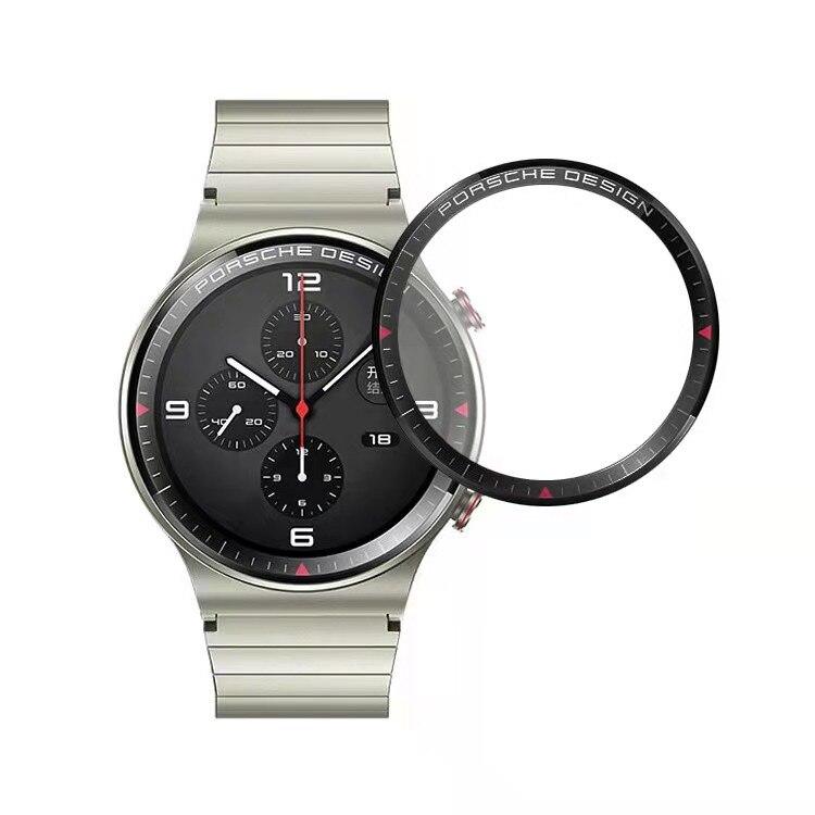 3d curvo borda macia película protetora capa de proteção para huawei gt 2 pro assista gt2 smartwatch tela cheia caso protetor