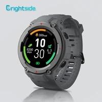 brightside smart watches men outdoor sports 2020 heart rate blood pressure monitor smartwatch fitness tracker clock waterproof