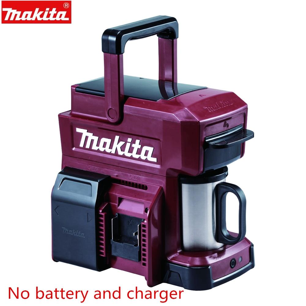 ماكيتا DCM501ZAR DCM501 18 فولت ماكينة القهوة الأحمر Ltd الطبعة اللاسلكي الجسم فقط