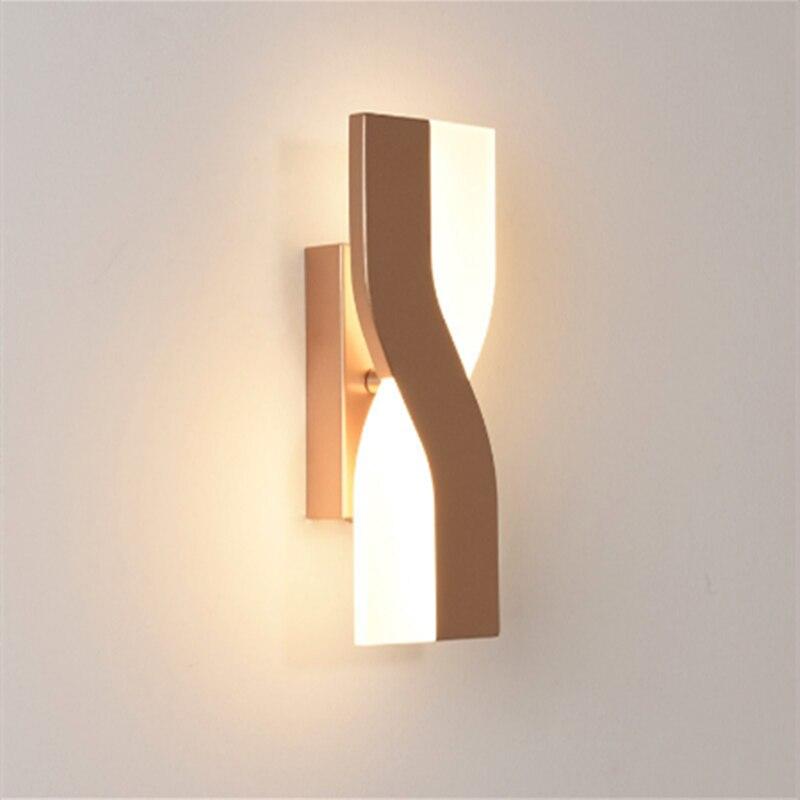 مصباح جداري Led دوار بسيط ومبتكر من NRE ، مصباح جداري لغرفة نوم الأطفال ، مصباح جداري لغرفة المعيشة على الطراز الاسكندنافي ، 2021