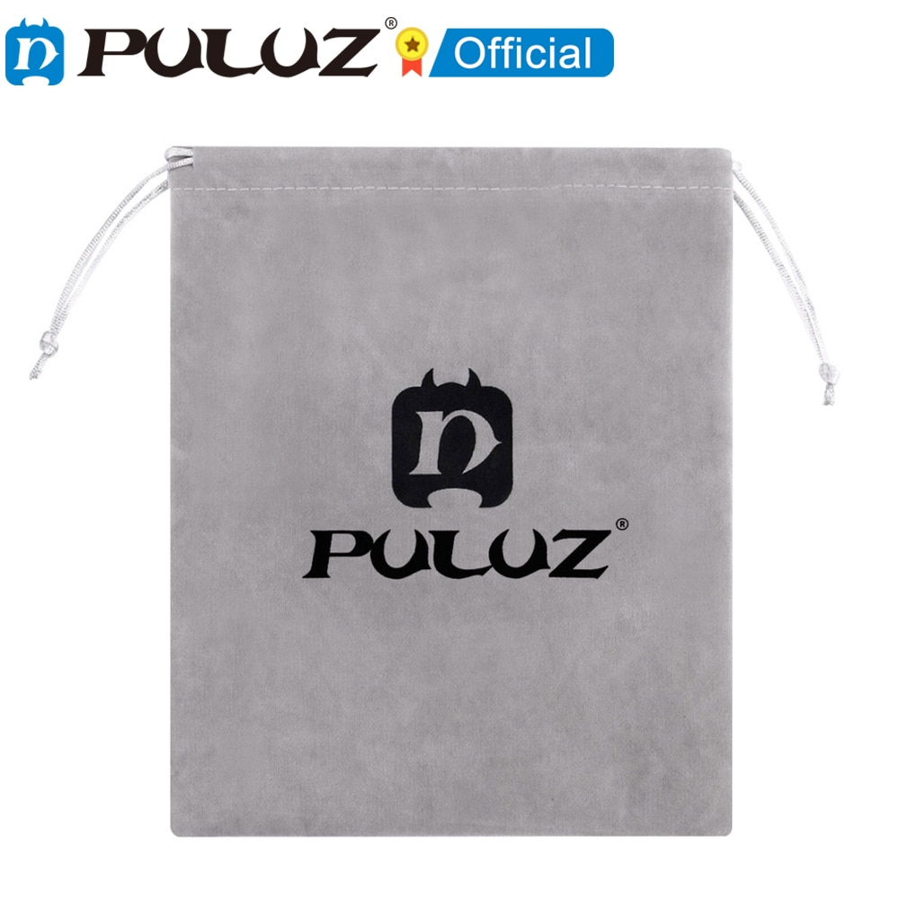 PULUZ-Bolsa de Franela suave con cable de soporte para GoPro bolsa de...