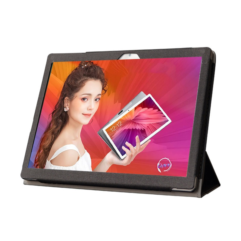 "10.1 Inch X20L customization PU Leather Cover for Teclast M30 CARBAYTA BDF Lonwalk FULCOL X20L 10 10.1"" Tablet Case Have Logo"