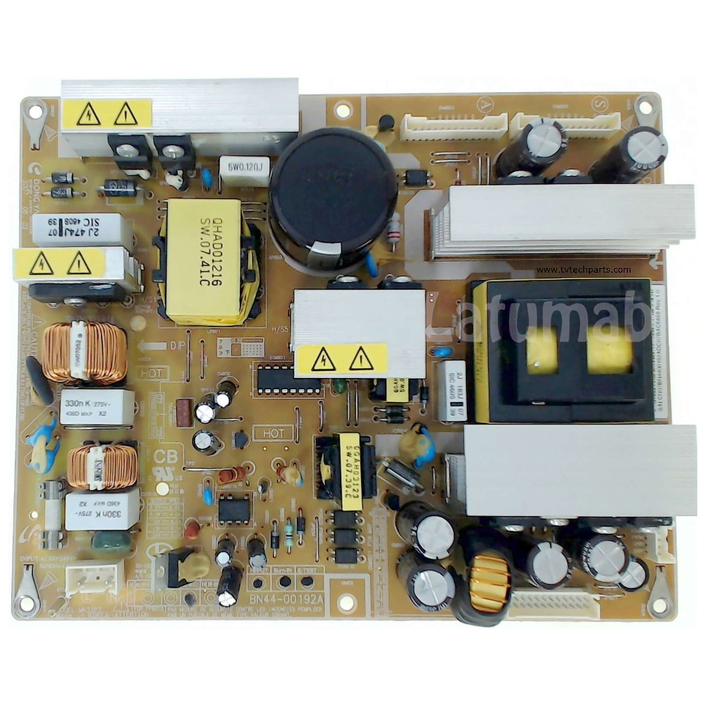 Latumab 100% Test BN44-00192A Power Supply Board for Samgsung LA32A350C1 LA32R81BA LA32S81B TV Accessories