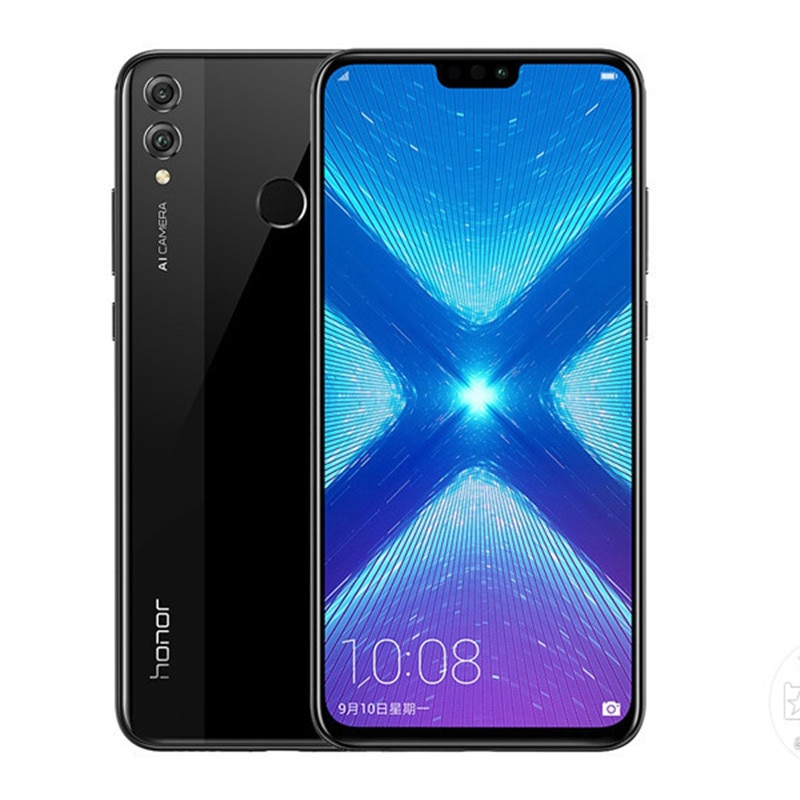 Honor 8X смартфон 6 Гб RAM 128 ГБ ROM 6,5 дюйм Kirin 710 Octa Core 2,2 GHz 20.0MP Android 10 3750mah отпечаток пальца 4G LTE мобильный телефон