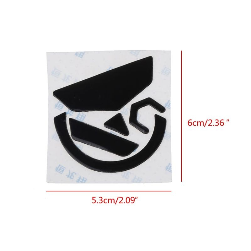 2 Sets 0.6mm Mouse Skates Mouse Stickers Pad for logitech G502 HERO LIGHTSPEED 090F