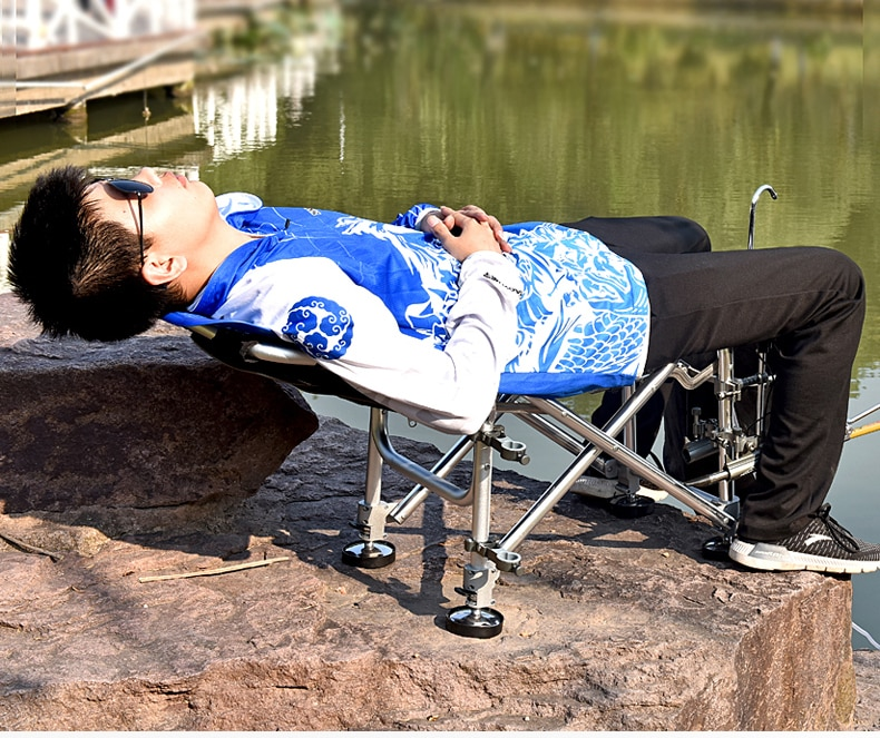 Travel Ultralight Folding Chair Superhard High Load Outdoor Camping Chair Portable Beach Hiking Picnic Seat Fishing Tools Chair enlarge