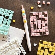 2pcs Set di penne colorate per lettere numero di alfabeto blocco di colore edificio per compleanno desiderio nome regalo forniture per studio scolastico fai da te A6262