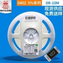 Resistencia SMD de sonido grueso 0402 2.2R precisión 5% Origional producto disponible actualmente resistencia SMD de sonido grueso de gama completa