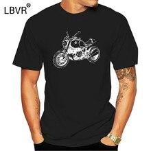 2020 mode RnineT T-Shirt mit Grafik R nineT moto rallye R neuf T Motorrad Fahrer T-Shirt