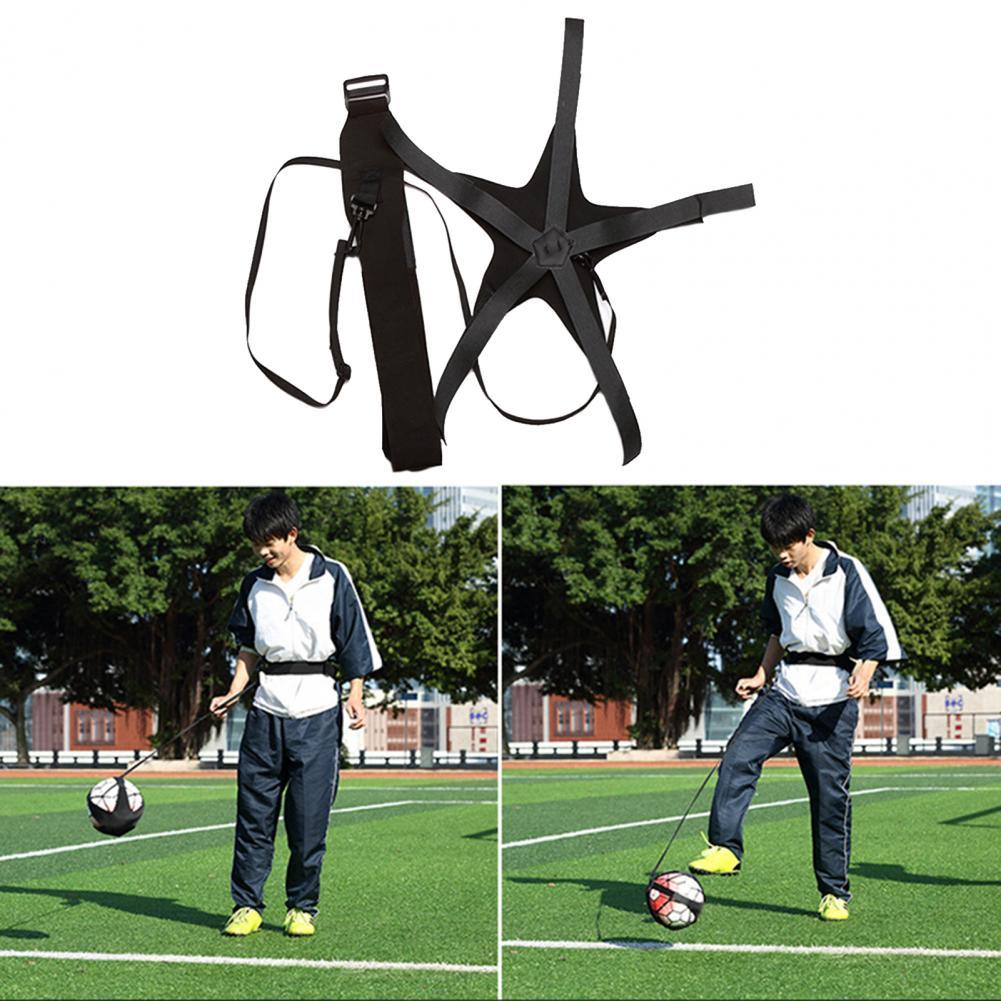 Футбольная сумка для жонглирования, детское футбольное тренировочное устройство, одиночное футбольное тренировочное устройство для удара...