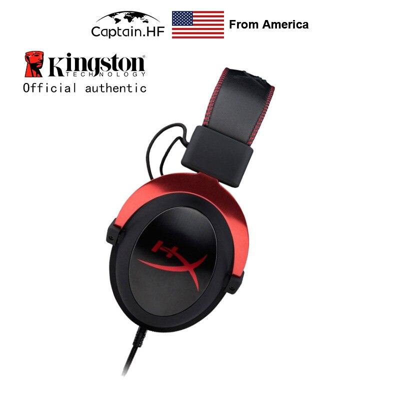 US Captain Auriculares para videojuegos Hyper X Cloud II para ordenador portátil y PC
