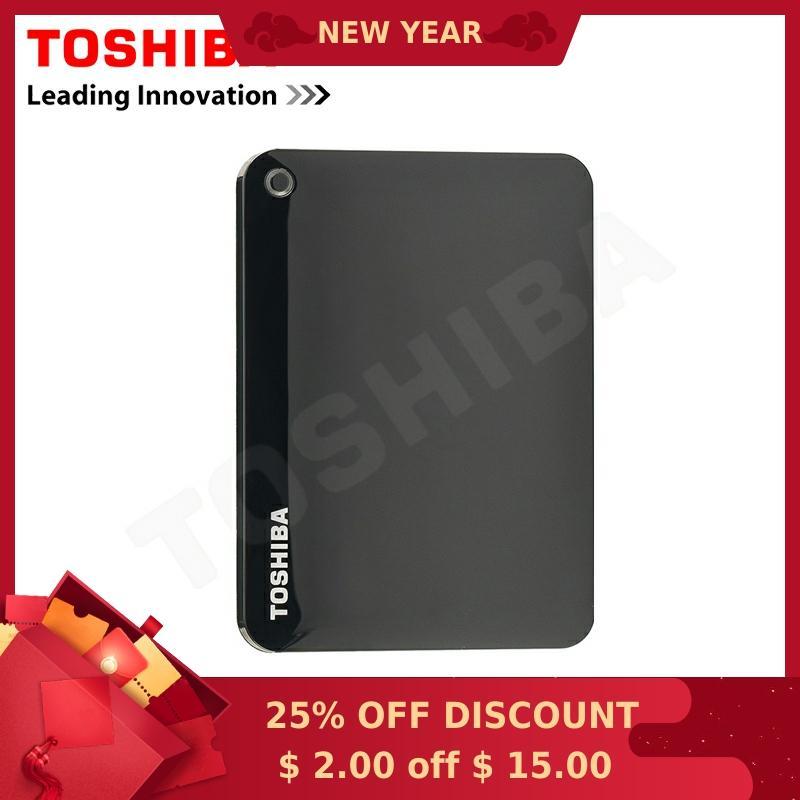"""Toshiba Canvio VORAUS Verbinden II 2,5 """"Externe Festplatte 500G/1 TB/2 TB USB 3.0 HDD festplatte Desktop Laptop Lagerung Geräte HD"""