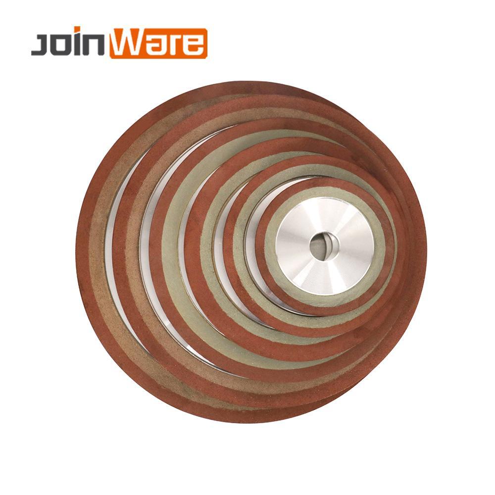 75/80/100/125mm Diamant Schleifen Rad Grinder Kreis Disc für Wolfram Stahl Hartmetall Metall Fräsen werkzeug Schärfer Tipps 150Grit