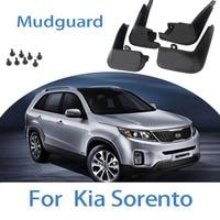 For 15-20 Kia Sorento13- 18 Mud Flaps Splash Guard Cover Mudguard Fenders Splasher Auto ccessories