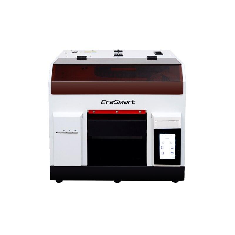 Nova ly a43 3020 tela sensível ao toque máquina de impressora a jato tinta uv leito automático completo epson l800 cabeça impressão raio infravermelho medida max