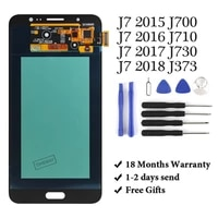 hot sell for j7 2016 lcd screen replacement assembly no dead pixel for j7 j700 j710 j730 j373 with gift