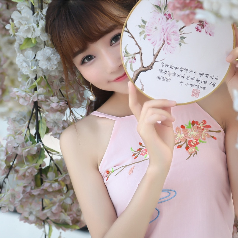 فستان سترة hanfu يومي للنساء ، فستان مطرز شعبي تقليدي ، غير مبطن ، علوي ، قابل للتمدد ، كل يوم ، صغير