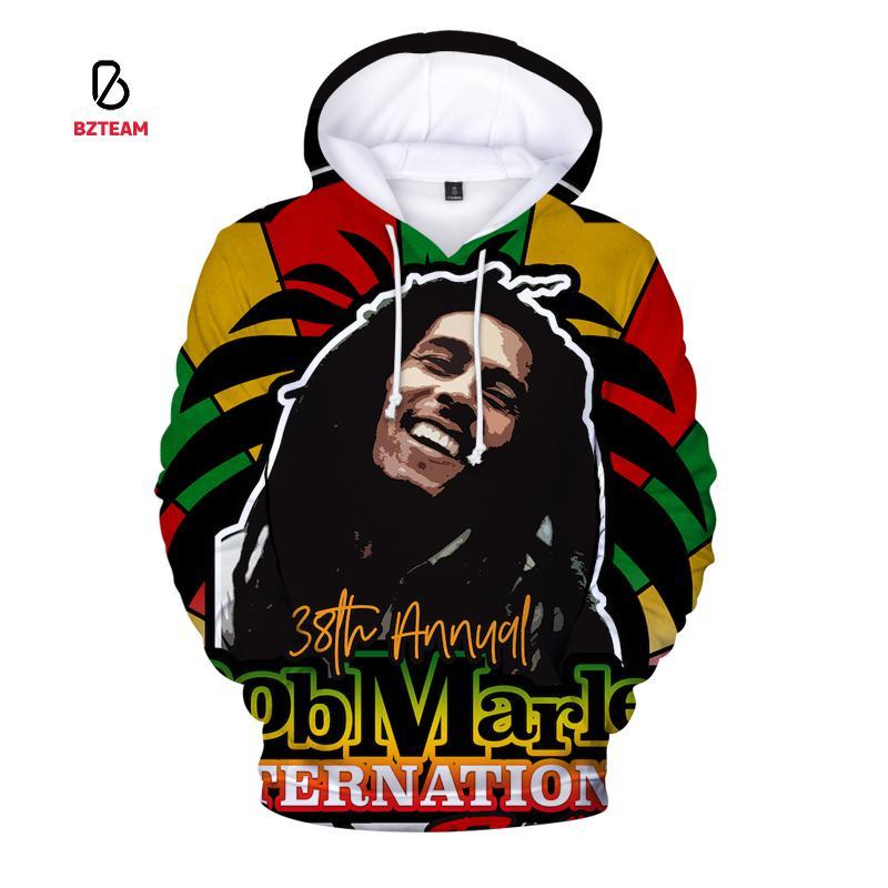 BZTEAM 3d Print Men's Hoodie Fall/winter Casual Sweatshirt Ladies Cool Hip-hop Street Rapper Hooded Hoodie hooded 3d fireworks print flocking trippy hoodie
