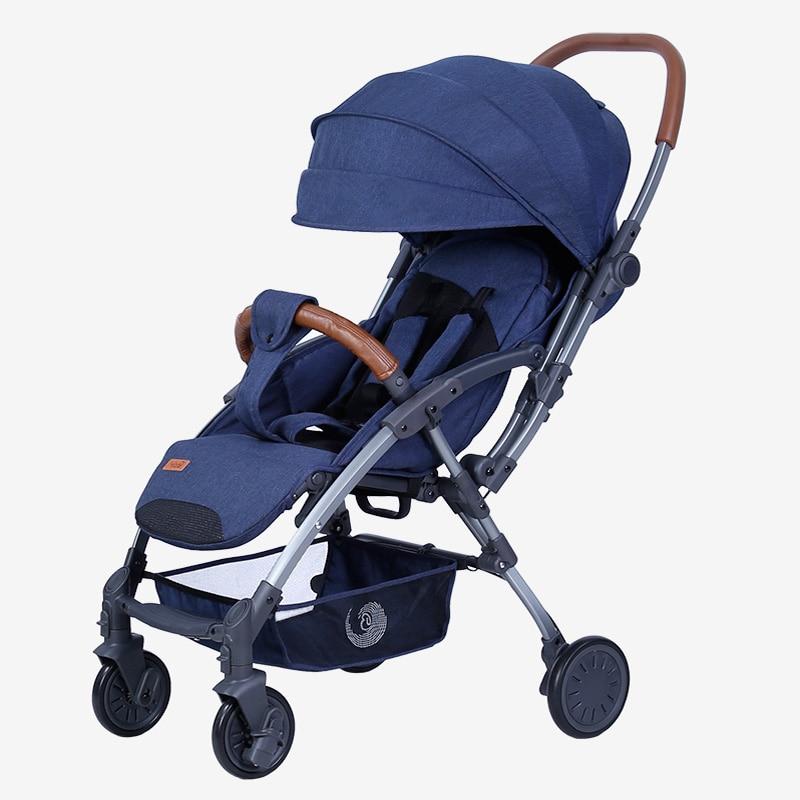 Bair 2020 cochecito de bebé paisaje cochecito-aluminio rueda de coche amortiguador plegable cochecito
