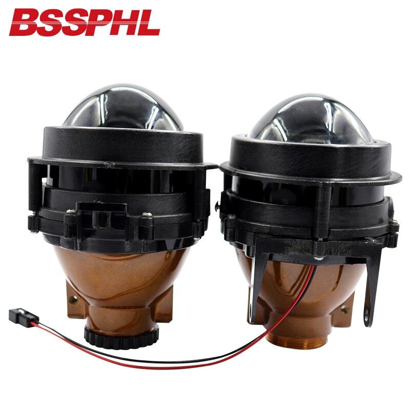 BSSPHL Car-styling 3,0 HD-bi-xenon proyector lente antiniebla luz de conducción adaptada para Chevrolet-Cruze Tracker/Opel Antara