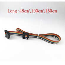 Ender-3/CR-10 Series Screen Extension Cable 10 Pins,Flexible Flat Ribbon Jumper Display Cable for 3d Pirnter (1pcs)
