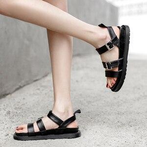 femmes sandales cute sandals woman Gothic jelly Sandals Peep Toe vrouwen sandalen beach sandals punk shoes flat sandals LJB62