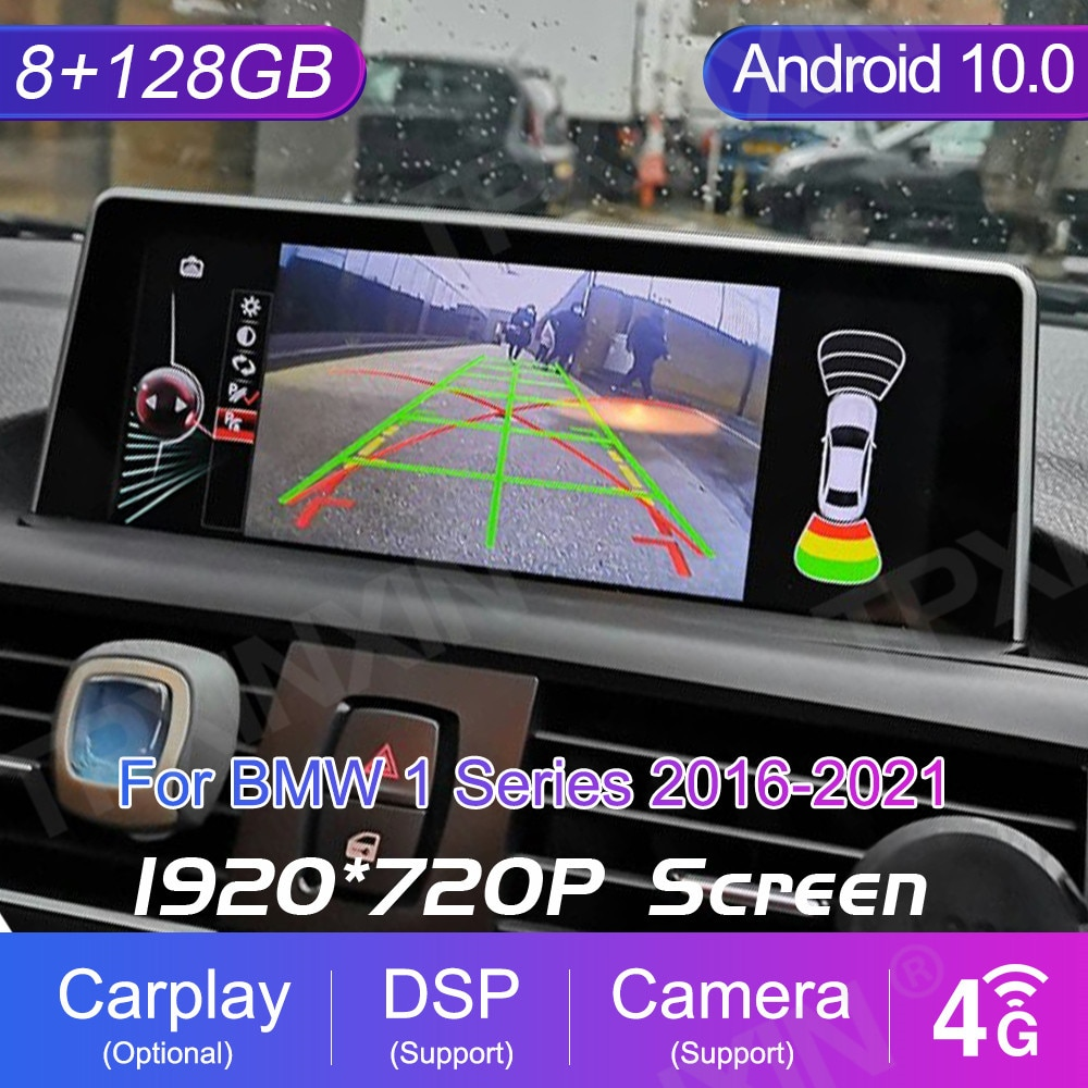 8 + 256GB سيارة لتحديد المواقع والملاحة لسيارات BMW 1 سلسلة E81/E82/E87/E88 2016-2021 أندرويد مشغل وسائط متعددة راديو مسجل شرائط ستيريو السيارات