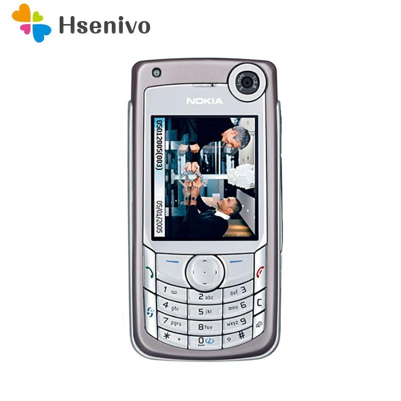 Перейти на Алиэкспресс и купить Nokia 6680 отремонтированы Оригинальный разблокирована Nokia 6680 мобильный телефон 2,2 дюймов 2G/3G с Bluetooth для мобильных телефонов, бесплатная достав...