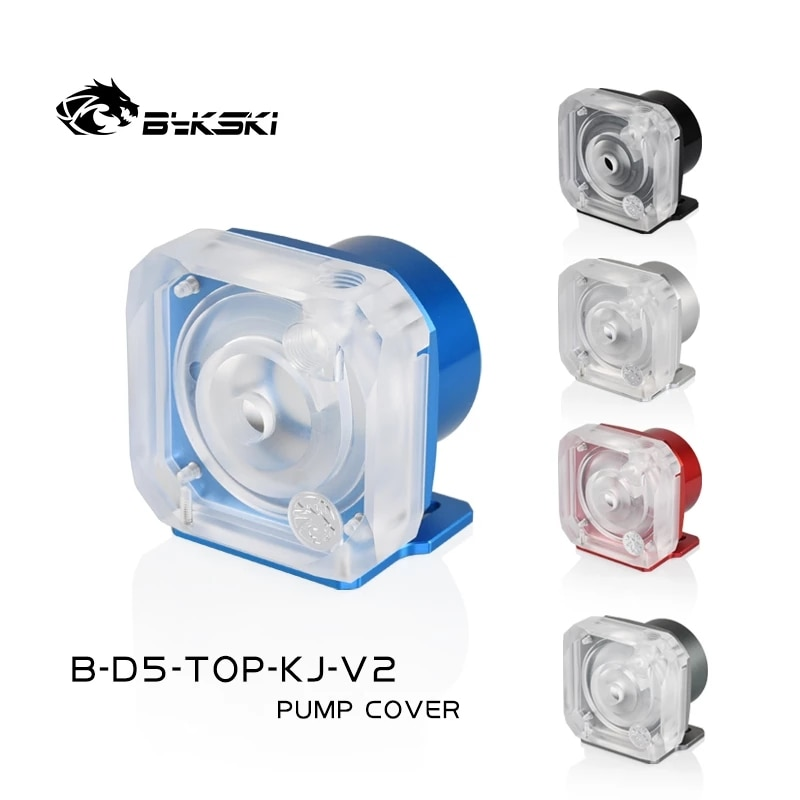 Bykski D5 غطاء مضخة المياه درع مضخة قوس سبائك الألومنيوم ل Bykski D5 مضخة B-D5-TOP-KJ-V2