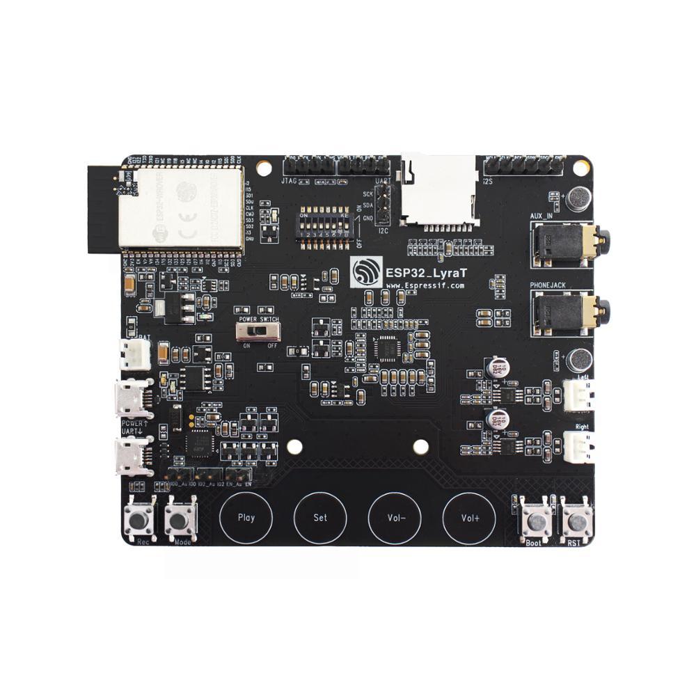 Placa de desarrollo de ESP32-LyraT para botones de herramientas de desarrollo de Audio IC, pantalla TFT y cámara compatibles con ESP32 LyraT ESP32 LyraT