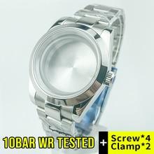 10Bar 330 pies 100m(10ATM) resistente al agua 39mm Datejust caja de reloj de estilo Fit ETA2836 Miyota8215 gavill2836 Mov't